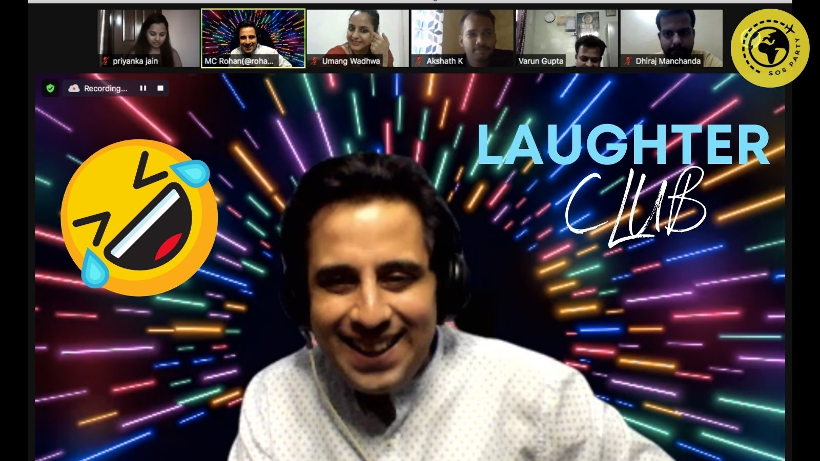 Laughter Club for team building