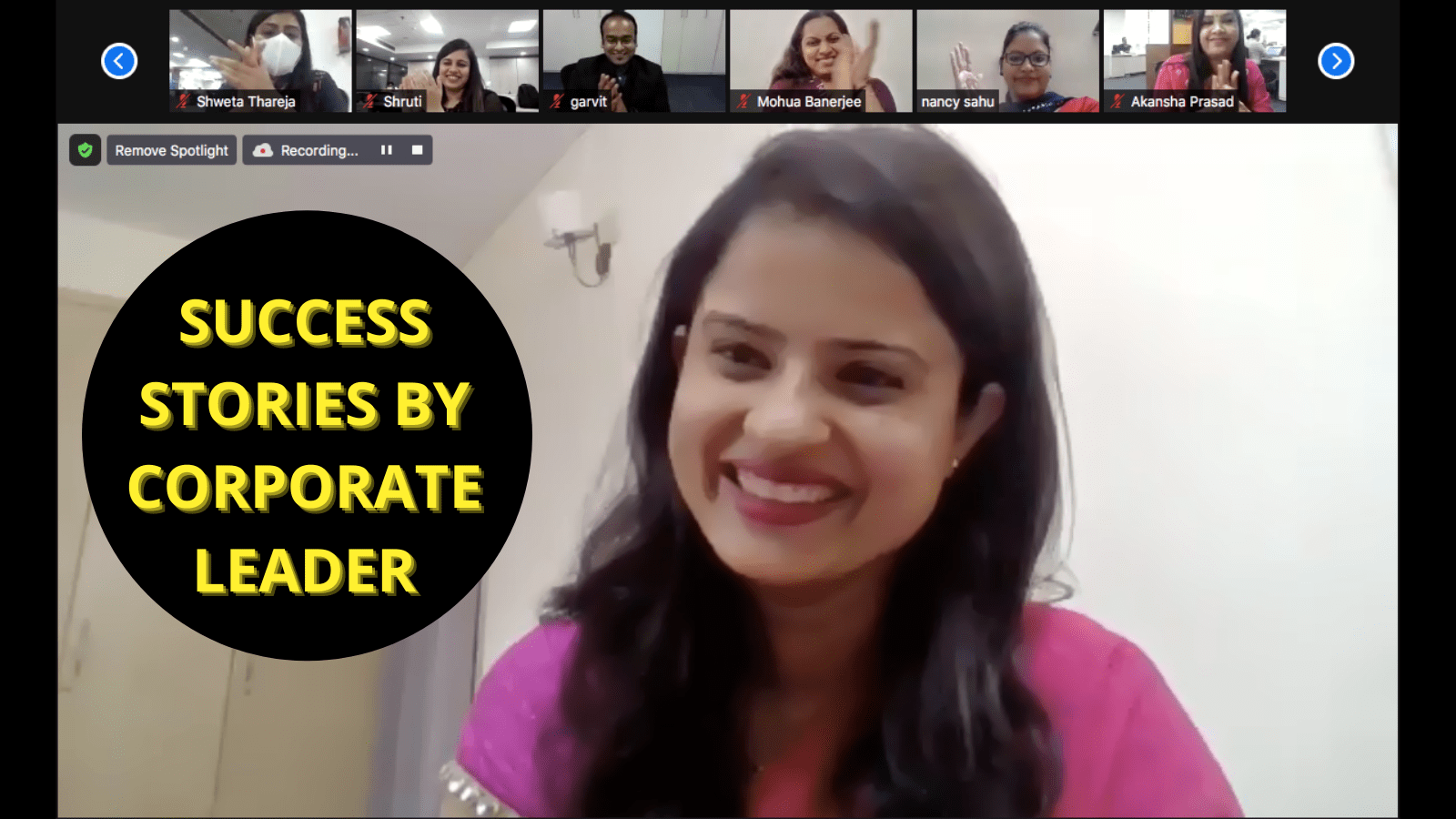 Success Stories by Corporate Leader